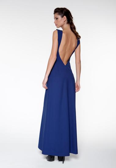 Длинные платья открытая спина