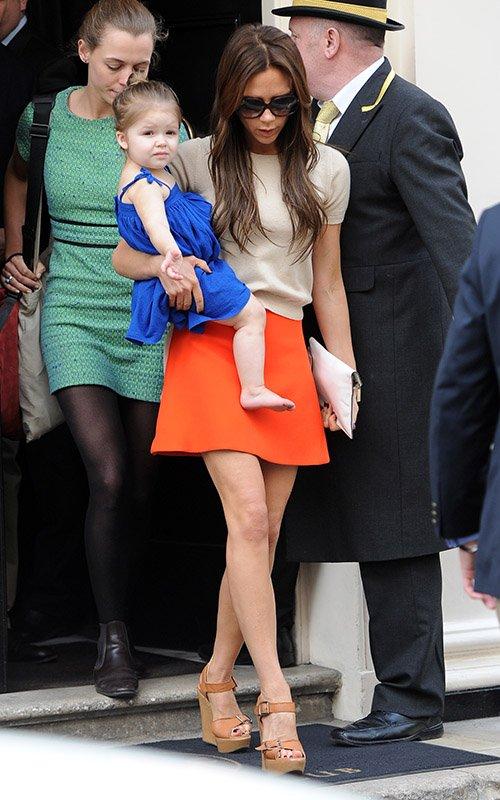 Виктория бекхэм ее дочь фото