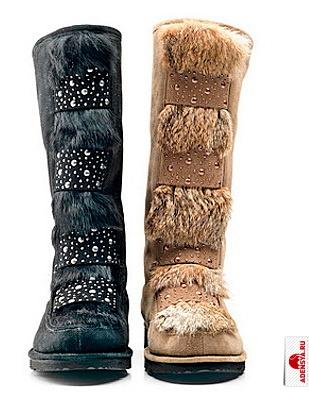 Как растянуть замшевые зимние сапоги с мехом в домашних условиях
