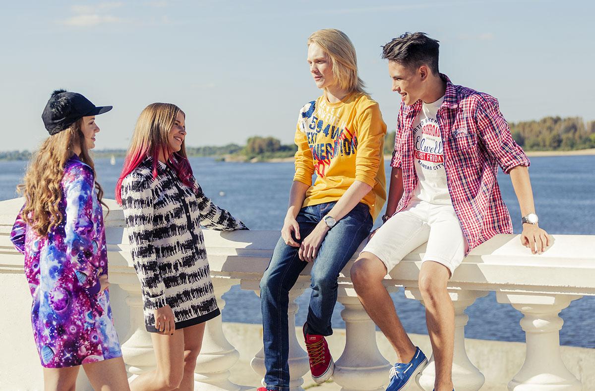 Что носит молодежь в россии