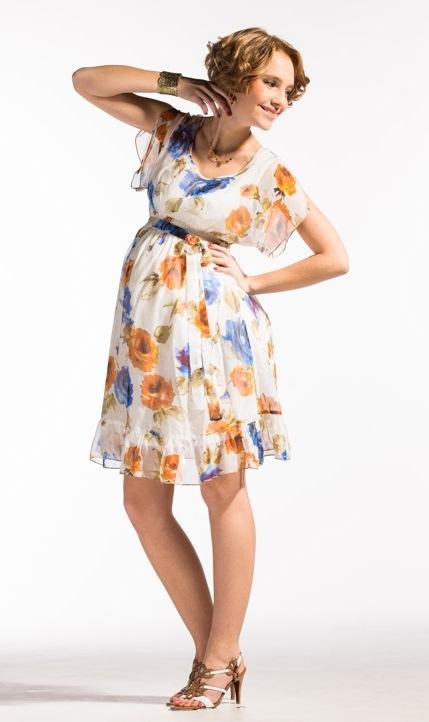 Сшить шифоновое платье беременное на фотосессию