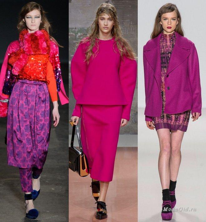 Модный Цвет Одежды 2014