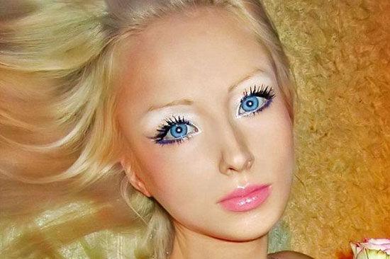 Фото макияжа чтобы быть похоже на барби
