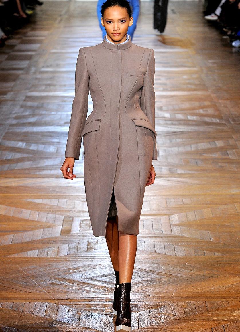 пальто женское осень Женская модная одежда 2013. осень-зима