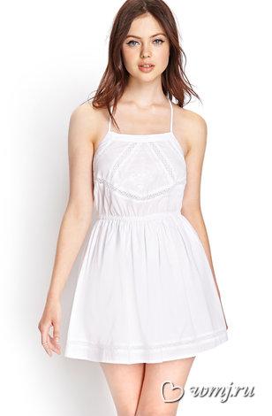 d4e6cb96efe А у нас белая горячка! Маленькое белое платье и 10 лучших аксессуаров к нему